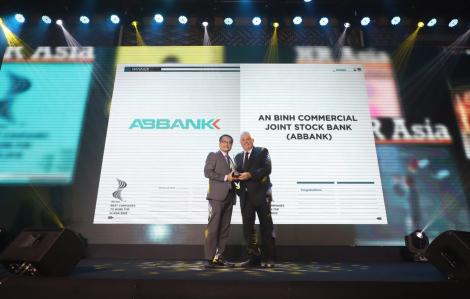 ABBANK nhận giải thưởng Nơi làm việc tốt nhất châu Á năm 2020