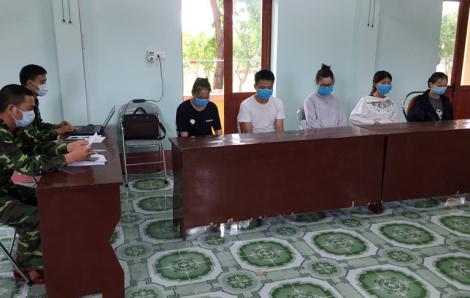 Bắt giữ 5 người Trung Quốc vượt biển vào Việt Nam đánh bạc