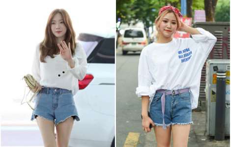 Năng động ngày hè với áo thun, quần short và denim