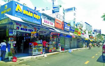 Khi nào di dời dãy ki-ốt chắn giữa đường Lương Hữu Khánh?