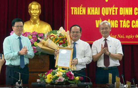 Phó Ban Tổ chức Trung ương Quản Minh Cường giữ chức Phó bí thư Tỉnh ủy Đồng Nai