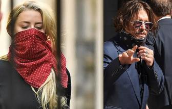 Johnny Depp đối đầu vợ cũ tại toà