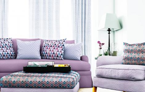 Cách sử dụng hàng dệt may trong thiết kế nội thất