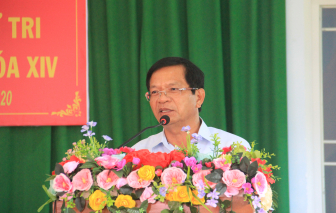 Bộ Chính trị đồng ý cho ông Lê Viết Chữ thôi giữ chức vụ Bí thư Quảng Ngãi