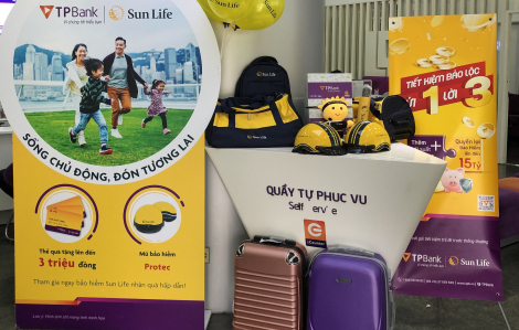 Nhận ngay những món quà hấp dẫn khi mua bảo hiểm Sun Life qua TPBank