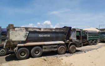 Huyện bắt quả tang doanh nghiệp trộm cát, tỉnh ''ngâm'' 2 tháng vẫn chưa chịu xử lý