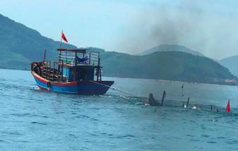 Va chạm tàu cá trên biển, 1 người chết, 1 người mất tích