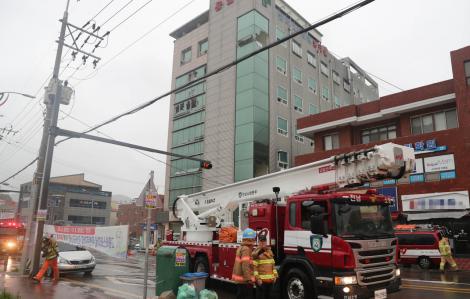 Cháy lớn tại bệnh viện ở Hàn Quốc, ít nhất 30 người thương vong