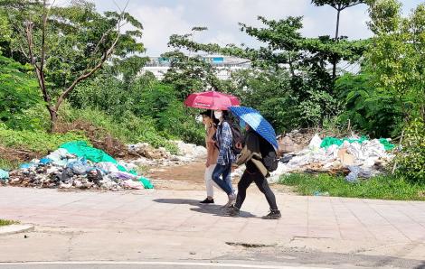 Ô nhiễm bủa vây làng đại học TPHCM