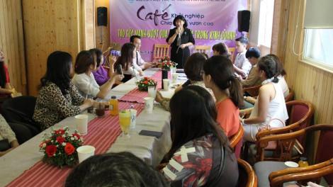 """Hội LHPN TP.HCM chia sẻ kinh nghiệm về """"Cà phê khởi nghiệp"""""""