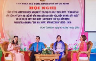 Gần 200.000 nữ công nhân viên chức lao động được chăm lo