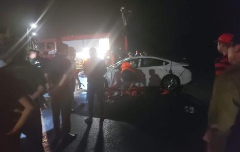 Vụ ô tô lao xuống biển ở Hạ Long: 3 nạn nhân đã tử vong, 1 đang nguy kịch