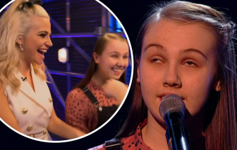 Tiếng hát của cô bé khiếm thị lay động khán giả Mỹ