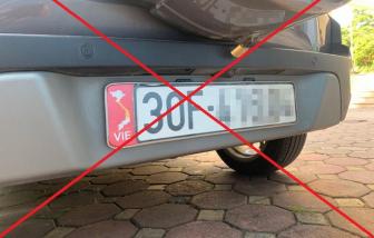 Sẽ xử lý các ô tô dán bản đồ Việt Nam không có Hoàng Sa, Trường Sa