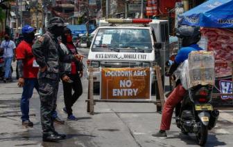Philippines tái phong tỏa một phần thủ đô Manila vì ca COVID-19 tăng cao
