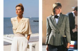 Thời trang thập niên 80: Cột mốc vàng son chưa bao giờ cũ