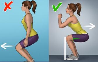 Những tác hại khi tập squat, plank không đúng cách mà bạn nên tránh