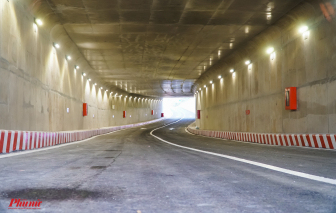 Hầm chui nút giao thông An Sương trước ngày thông xe