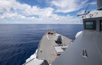Bác bỏ yêu sách của Trung Quốc ở Biển Đông, Mỹ đưa tàu chiến đến gần quần đảo Trường Sa