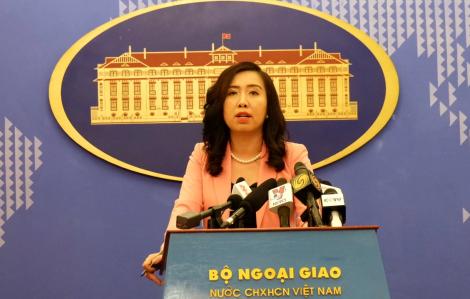 Việt Nam hoan nghênh lập trường các nước về Biển Đông phù hợp luật pháp quốc tế