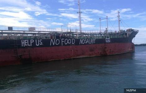 Đề nghị trả lương, các chi phí sinh hoạt phát sinh cho 12 thủy thủ Việt Nam mắc kẹt tại Malaysia