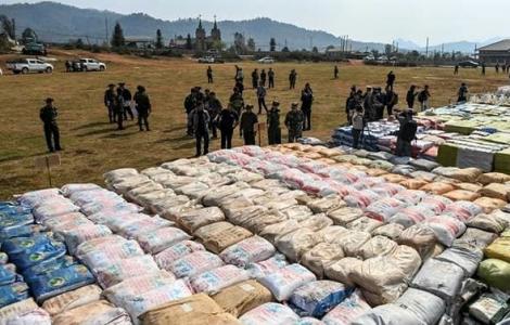 Đông Nam Á thống lĩnh buôn bán ma túy bất hợp pháp