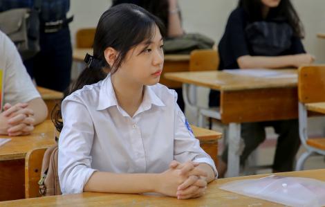 Đề thi văn lớp Mười tại Hà Nội: Thí sinh dễ đạt điểm cao
