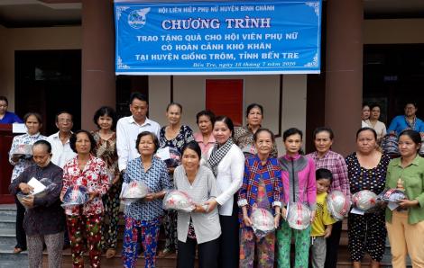 Về thăm Khu Lưu niệm Nữ tướng Nguyễn Thị Định và trao quà từ thiện