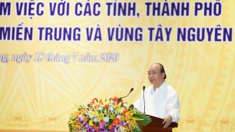 """Thủ tướng Nguyễn Xuân Phúc: """"Địa phương nào cần tiền phát triển, Chính phủ sẽ mang đến"""""""