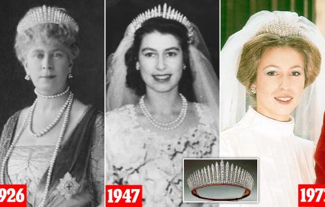 Bí mật chiếc vương miện gần 100 năm trong lễ cưới của công chúa Beatrice