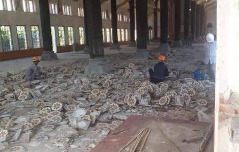 Chính thức phá dỡ nhà thờ Bùi Chu