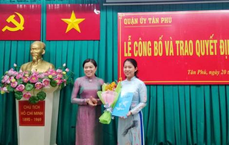 Bà Chung Thủy Tiên làm Chủ tịch Hội LHPN quận Tân Phú