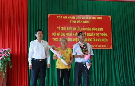 Hàng loạt cán bộ tại Đắk Nông bị kỷ luật vì gây oan sai, bỏ lọt tội phạm