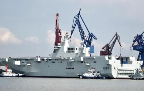 """Trung Quốc gia tăng liên tục vũ khí, tàu """"khủng"""" để thách thức Mỹ?"""