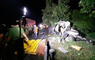 Tai nạn xe khách thảm khốc ở Bình Thuận, 8 người tử vong