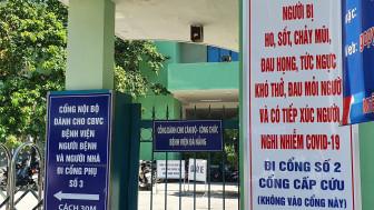 Thời gian ủ bệnh của 7 bệnh nhân đang điều trị ở Bệnh viện Đà Nẵng bỗng mắc COVID-19