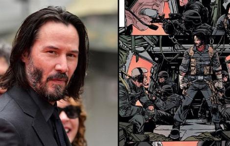 Diễn viên Keanu Reeves sáng tác truyện tranh
