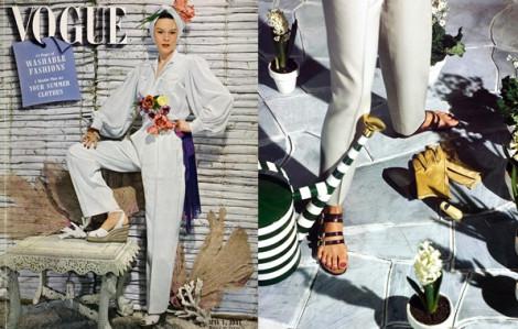 Sandal mùa hè lấy cảm hứng từ những năm 1940