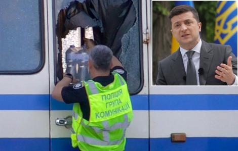 Tổng thống Ukraine chấp nhận yêu cầu kỳ lạ của kẻ bắt cóc