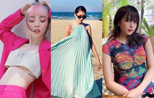 Những xu hướng mùa hè được loạt sao Việt ưa chuộng