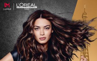 L'Oréal Professionnel ra mắt gian hàng chính hãng trên LazMall vào ngày 25/7/2020