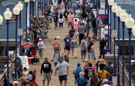 Bang California ghi nhận kỷ lục hơn 12.000 ca nhiễm trong ngày