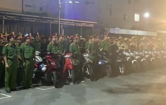 Công an TPHCM bắt 97 đối tượng sau một tuần ra quân trấn áp tội phạm