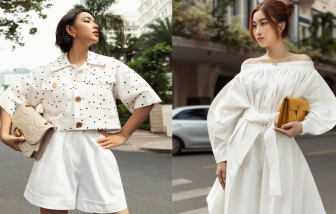 Cả tuần điệu đà không chán với sắc trắng từ gợi ý của mỹ nhân Việt
