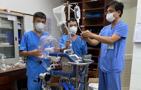 Bệnh diễn tiến nặng, bệnh nhân 416 bắt đầu sử dụng ECMO