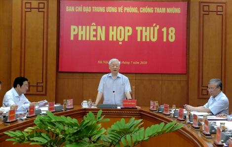 """Tổng bí thư, Chủ tịch nước Nguyễn Phú Trọng: """"Phát huy hơn nữa vai trò của báo chí và nhân dân trong phòng chống tham nhũng"""""""