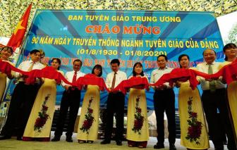 Khánh thành nhà bia tưởng niệm nơi làm việc của Ban Tuyên huấn Trung ương Cục miền Nam