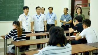 Thanh tra tham gia vào tất cả các khâu của kỳ thi tốt nghiệp 2020