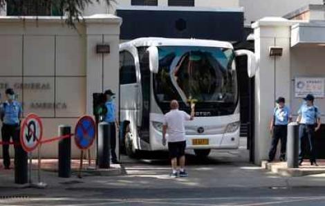 Nhân viên lãnh sự quán Hoa Kỳ chuẩn bị rời khỏi Thành Đô