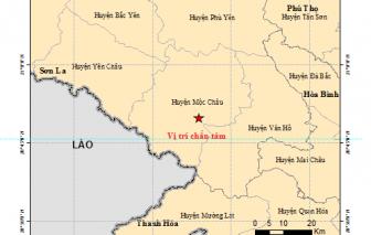 Động đất ở Sơn La khiến cả Hà Nội rung lắc nhẹ